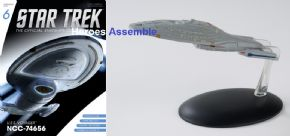 Star Trek Official Starships Collection #006 USS Voyager NCC-74656 Eaglemoss